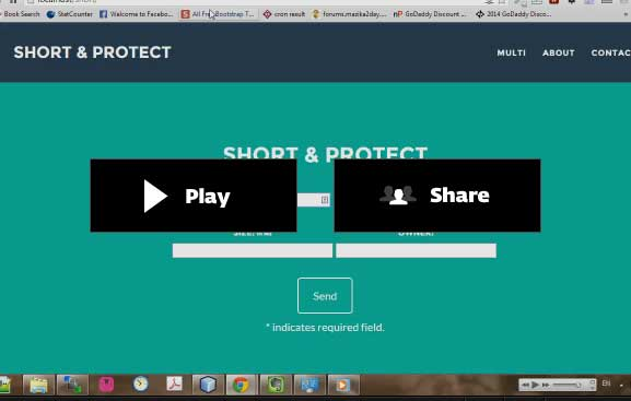 URL Shortener with Ads and Powerful Admin Panel Download